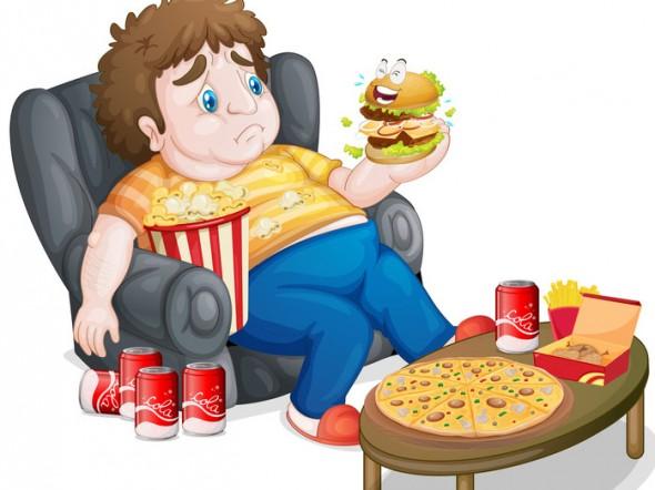 Eliminare parti e il grasso nel fondo di uno stomaco