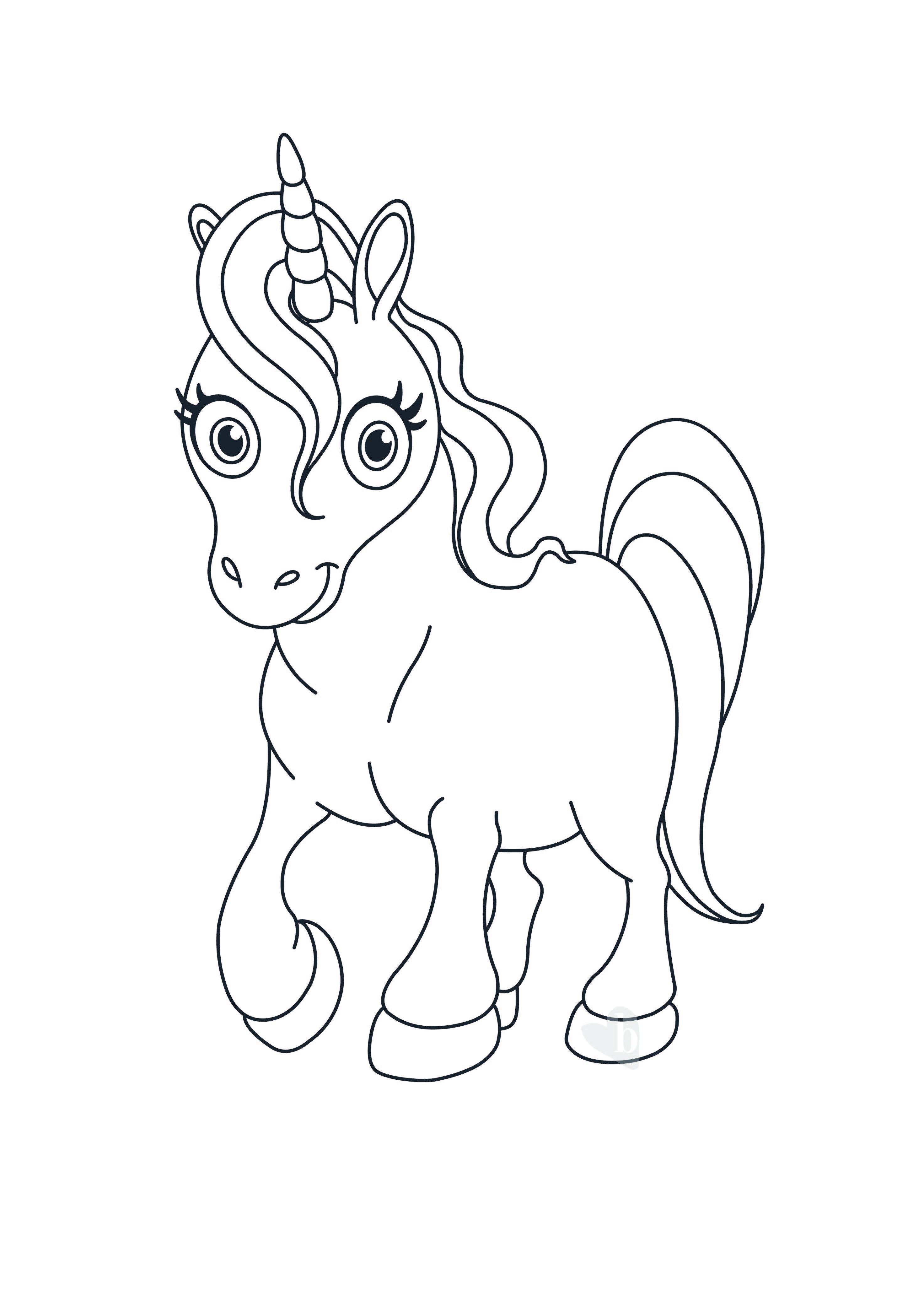 Unicorno bimbi sani e belli for Immagini di disegni facili